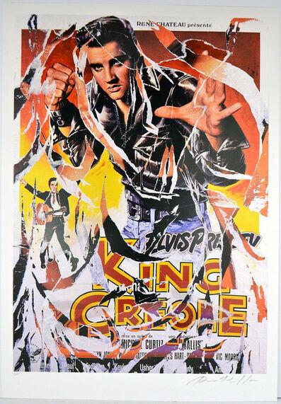 Mimmo Rotella, 'King Creole', ca. 2005