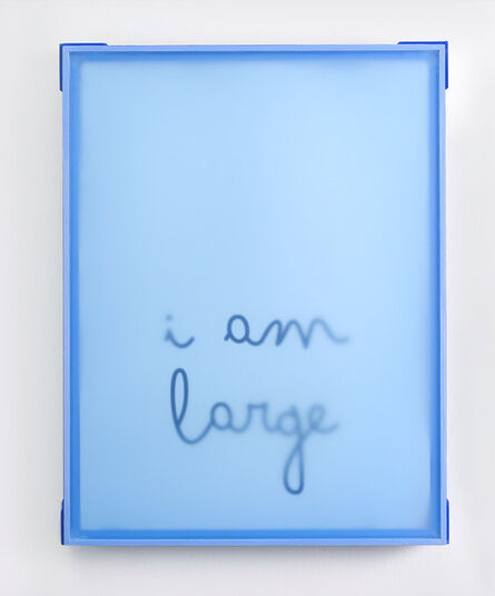 Karen Navarro, 'I am large', 2021