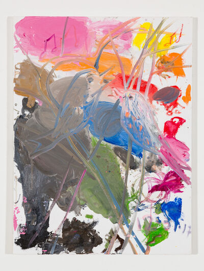 Ann Craven, 'Untitled (Purple Finch, Eastern Blue Bird), 2017', 2017