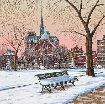 Liudmila Kondakova, 'Notre Dame in Winter (Postcards from Paris)', 2003