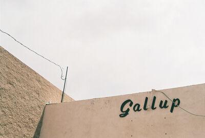 Lorena Lohr, 'Untitled (Gallup Sign)', 2014