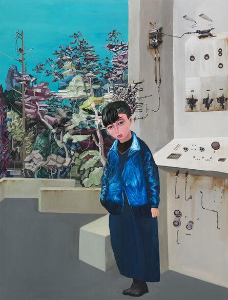 Chen Li-Ying, 'Telephone Pole & Electronic Jungle', 2015