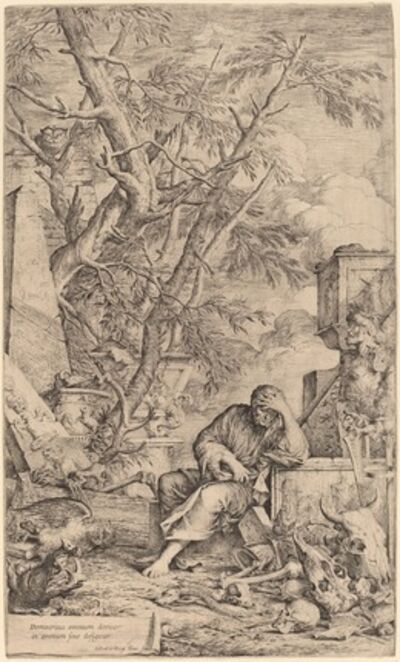 Salvator Rosa, 'Democritus in Meditation'