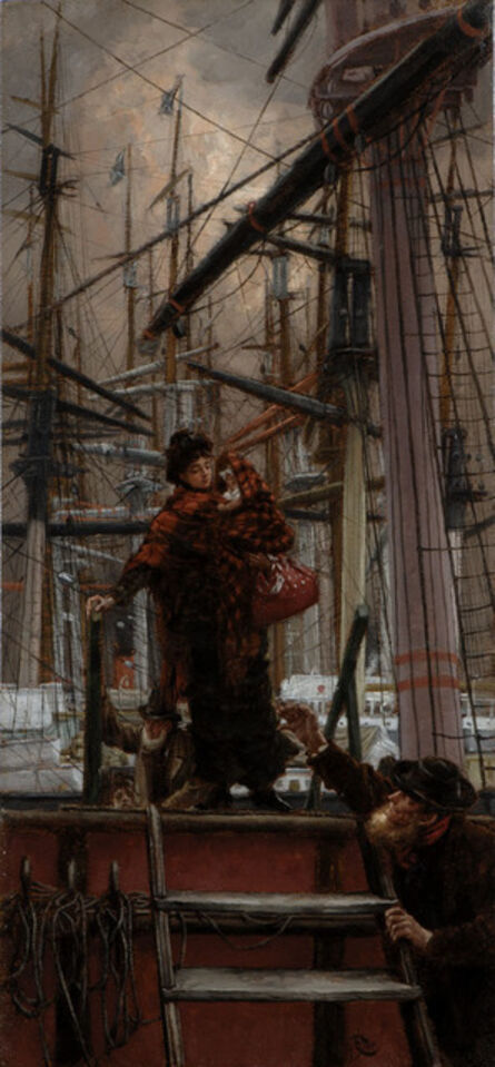 James Jacques-Joseph Tissot, 'Emigrants', 1875