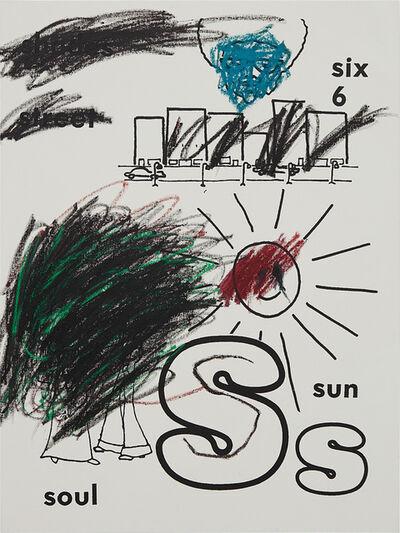 Glenn Ligon, 'Sun (version 1) #2', 2001