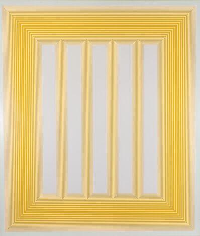 Richard Anuszkiewicz, 'Temple of Celestial Blue', 1985