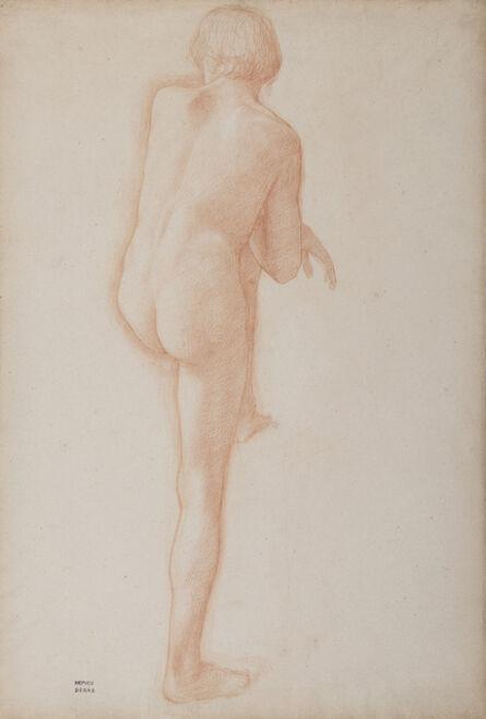 Edgar Degas, 'Académie d'homme', Unknown