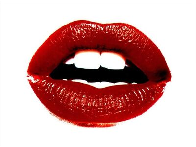 Tyler Shields, 'Lips', 2014