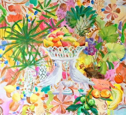 Melanie Parke, 'Slim Moon in the Pear Trees', 2017