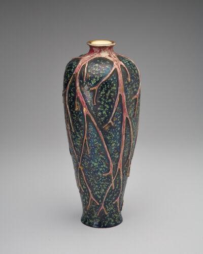 Amphora, 'Coral Flash', ca. 1899