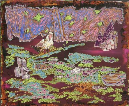 Miao Jiang, '时间逝不去的意念 No.4 (Unceasing Thoughts No.4)', 2017