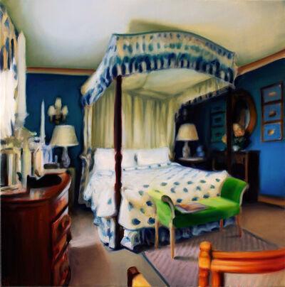Jeffrey Beauchamp, 'Blue Four Poster', 2014