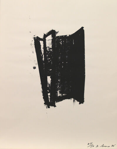 Richard Serra, 'Sketch #6', 1980