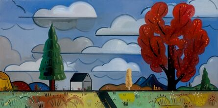 Richard Thompson, 'Red Tree', 2014