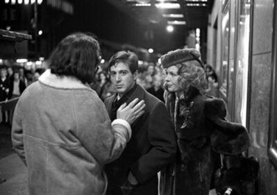 Harry Benson, 'Coppola, Pacino, Keaton, The Godfather, New York', 1971