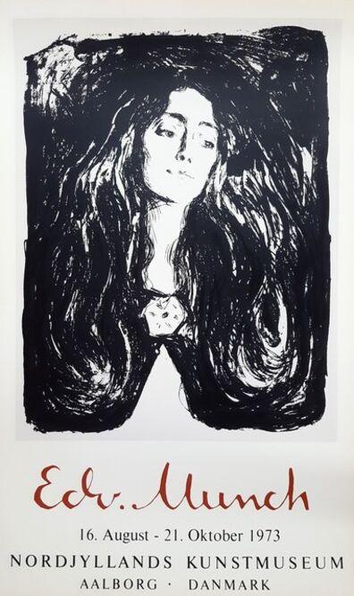 Edvard Munch, 'Madonna (The Brooch. Eva Mudocci)', 1973