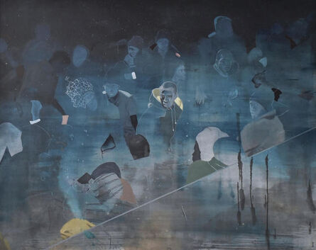 Nabil El Makhloufi, 'La voie lactée', 2017