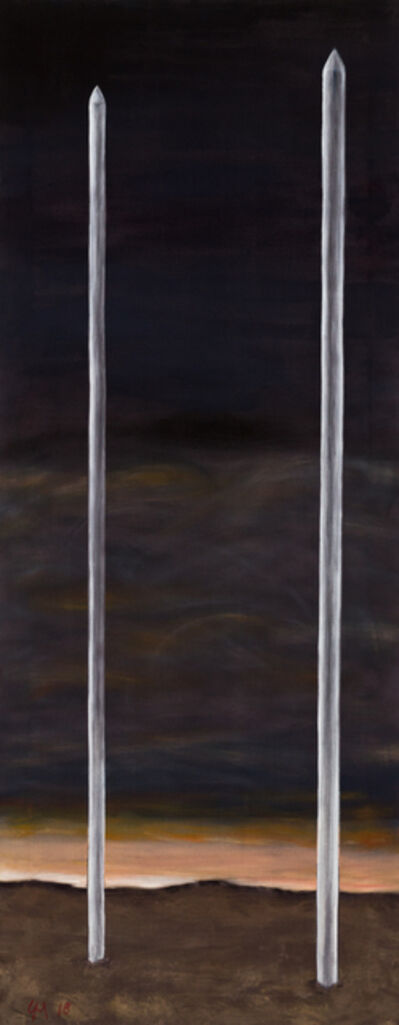 Grégoire Müller, 'Steel Rods', 2018