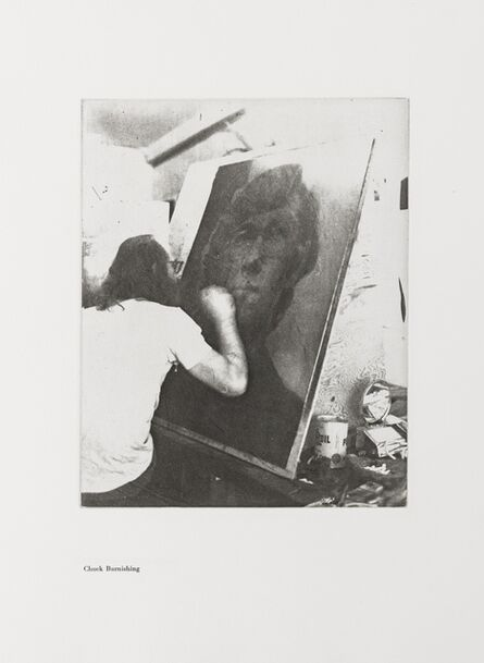 Chuck Close, 'A Documentation with Ten Photographic Etchings of the Work in Progress', 1972