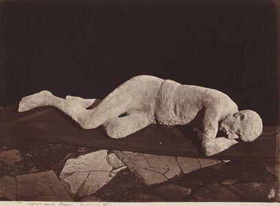 Giorgio Sommer, 'Impronte umane (Pompeii)', 1873