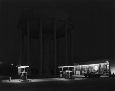 George Tice, 'Petit's Mobil Station, Cherry Hill, NJ', 1974