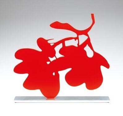 Donald Sultan, 'Red Lantern Flower, Sept. 18, 2013', 2013