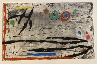 Joan Miró, 'Trace sur la Paroi I', 1967