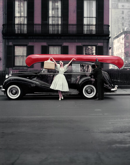 William Helburn, 'Red Canoe: Barbara Mullen', 1957