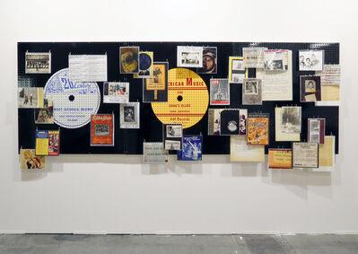 Allen Ruppersberg, '20th Century American Music #2', 2014