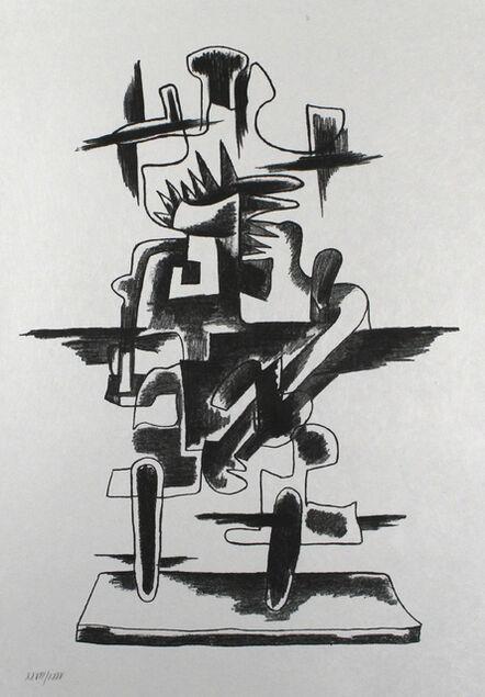 Ossip Zadkine, 'Le merveilleux radeau', 1966