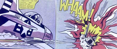 Roy Lichtenstein, 'Whaam! Diptych by Roy Lichtenstein, Original Museum Lithograph', 1982