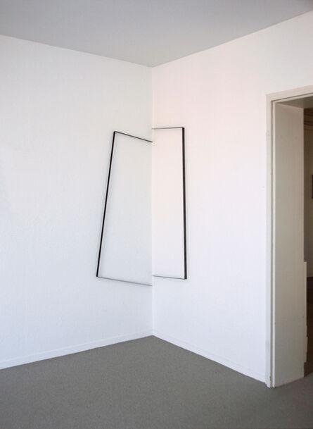 Gisela Hoffmann, 'raumlinien 26, 2tlg.', 2013