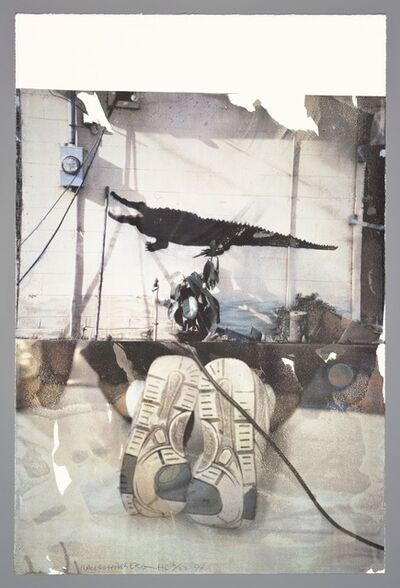 Robert Rauschenberg, 'Environment (Tribute 21)', 1994