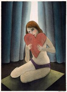 Corinne von Lebusa, 'Liebe an Dich', 2017