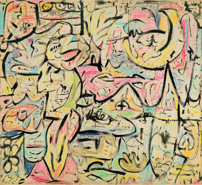Helen Frankenthaler, 'The Sightseers', 1951