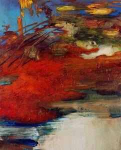 Margaret Lazzari, 'Red Landscape with Arcs'