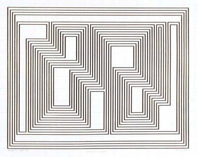Josef Albers, 'Prefatio, from the Graphic Tectonics series', 1942