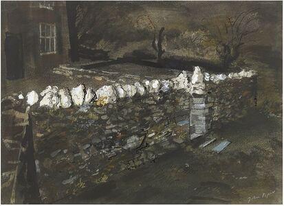John Piper, 'Wall at Pentre', 1946-1947