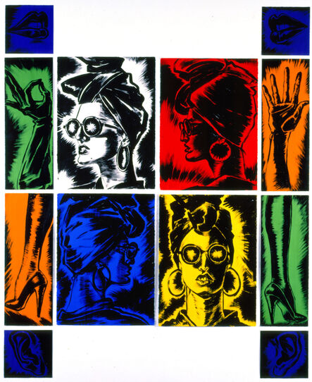 Antonio Lopez, 'Portrait: Claudia', 1985
