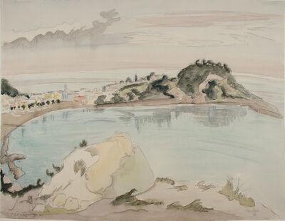 Erich Heckel, 'Landzunge', 1957