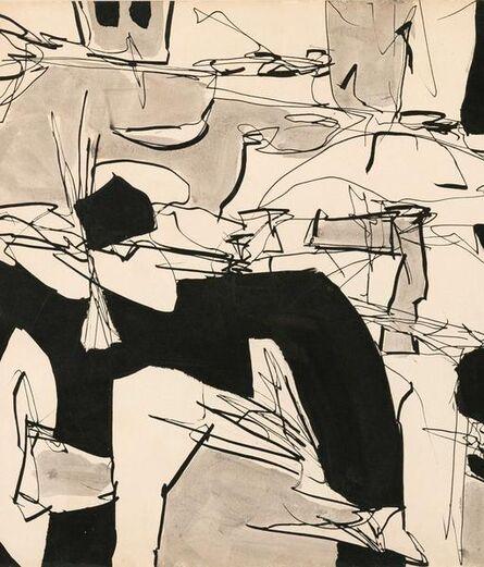 Gene Davis, 'Dance Party', 1952