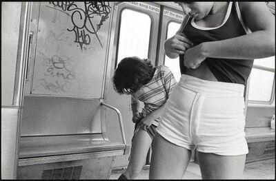 Susan Meiselas, ' On-the-A-train-to-Rockaway-Beach-NYC', 1978