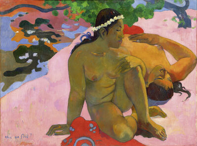 Paul Gauguin, 'Aha oe feii?  (What! Are You Jealous?)', 1892