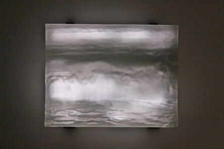 Jim Campbell, 'Topography Reconstruction (Wave)', 2014