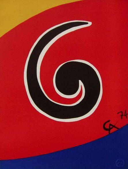 Alexander Calder, 'Sky Swirl (Flying Colors Collection)', 1974