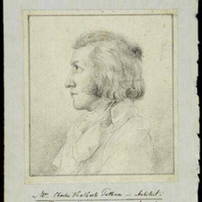 Vincenzo Camuccini, 'Mr. Charles Heathcote Tatham architect', 1795