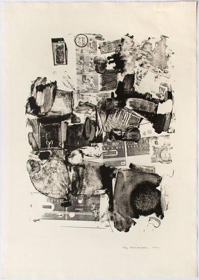 Robert Rauschenberg, 'Urban', 1962
