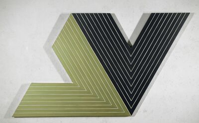 Frank Stella, 'Ifafa II', 1964