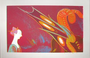 Andy Warhol, 'Details of Renaissance Paintings (Paolo Ucello, St. George and the Dragon 1460)', 1984