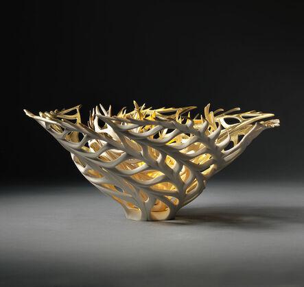 Jennifer McCurdy, 'Gilded Coral Nest', 2018